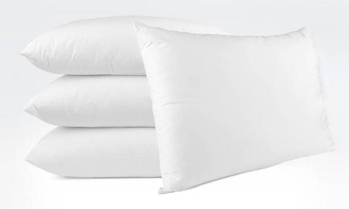 Cozy Home Collection Hypoallergenic Microfiber Pillows: Cozy Home Collection Hypoallergenic Microfiber Pillows. 2 or 4 Pillows in Assorted Sizes from $34.99–$49.99.