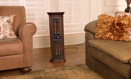 4-in-1 Air Commander Space Heater with High, Low, Eco Heat Settings