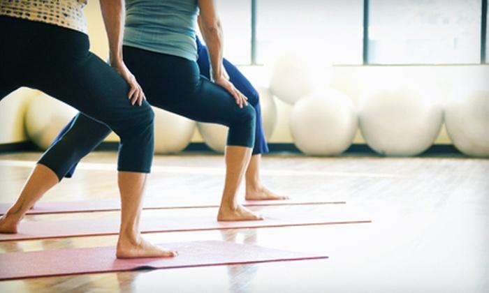 Get Fit St. Louis LLC - Saint Louis: 10 or 20 Yoga Fusion Classes at Get Fit St. Louis LLC (Up to 68% Off)