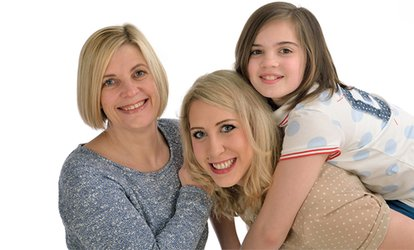 Family Photoshoot With Four Prints for £15.95 at The Rose Studio (83% Off)