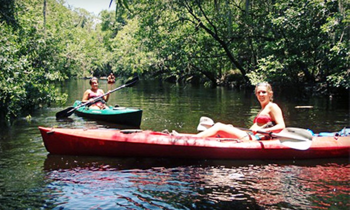 Canoe Outpost - Ruskin: 5.5-Mile Kayak or Canoe Trip Down Little Manatee River from Canoe Outpost (Up to Half Off). Two Options Available.