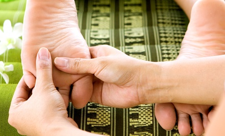 Acupressure Massages or Reflexology Packages at Taichi Wellness Spa Plus (Up to 63% Off). Five Options Available.
