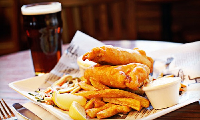 Brew House - North New Hyde Park: Pub Food and Beer for Two or Four at Brew House (Up to 62% Off)