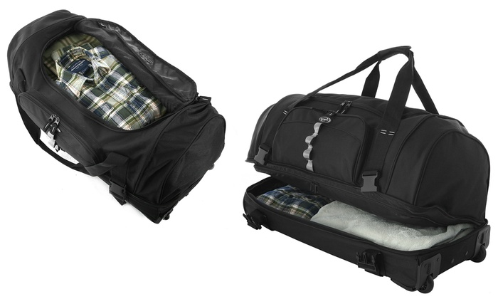 Olympia Usa 30 Drop Bottom Rolling Duffel Bag