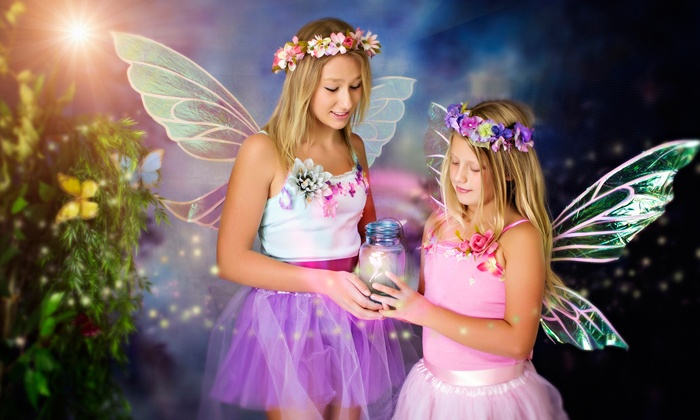 Saulmon Photography - Camarillo: Enchanted-Fairy Photo Session for One, Two, or Three Children at Saulmon Photography (Up to 89% Off)