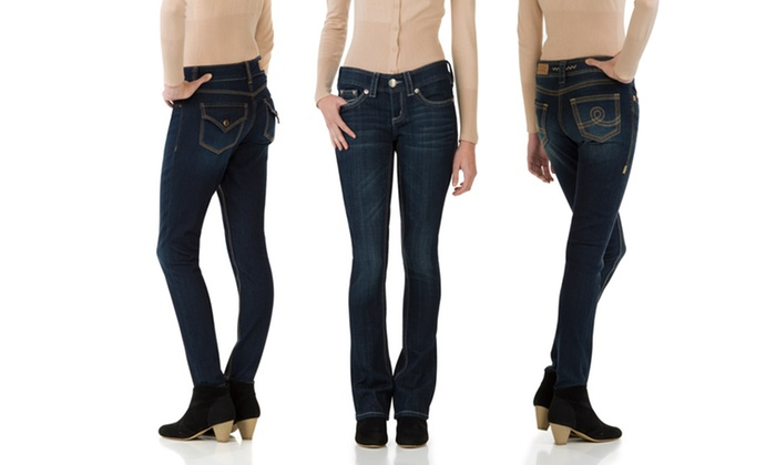 Seven7 Women's Slim and Skinny Jeans: Seven7 Women's Slim and Skinny Jeans. Multiple Styles Available. Free Shipping and Returns.