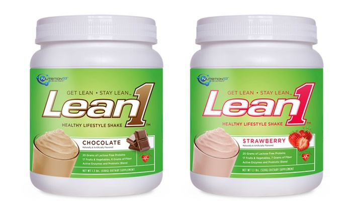 Nutrition53 Fat Burning Meal Replacement Shakes: $14.99 for Nutrition53 Lean1 Healthy Performance Meal-Replacement Shake Mix ($29.99 List Price). Four Flavors Available.