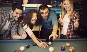 London Snooker Ltd: Two Hours of Snooker or Pool Plus Jug of Beer and Annual Membership for Two at Hurricane Rooms (Up to 74% Off)