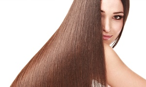 Monroe's Hair and Beauty Salon: Keratin Blowout at Monroe's Hair and Beauty Salon (Up to 55% Off)