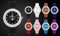 Relojes United Crystal con Swarovski Elements disponibles en varios colores