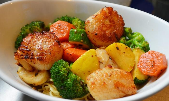 Ragin' Cajun - Belmar: Cajun Dinner Cuisine or a Signed Cookbook at Ragin' Cajun (Up to 51% Off). Three Options Available.