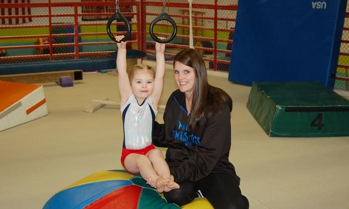 M&M Gymnastics & Dance - New Berlin: $67 for Parent and Child Summer 11-Week Gymnastics Classes from M&M Gymnastics & Dance ($135 Value)