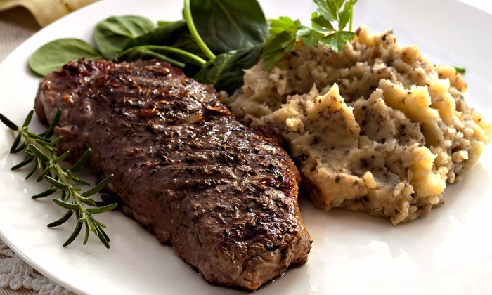 Houston St. Bistro - Downtown: Upscale American Fare at Houston St. Bistro (Up to 47% Off). Two Options Available.