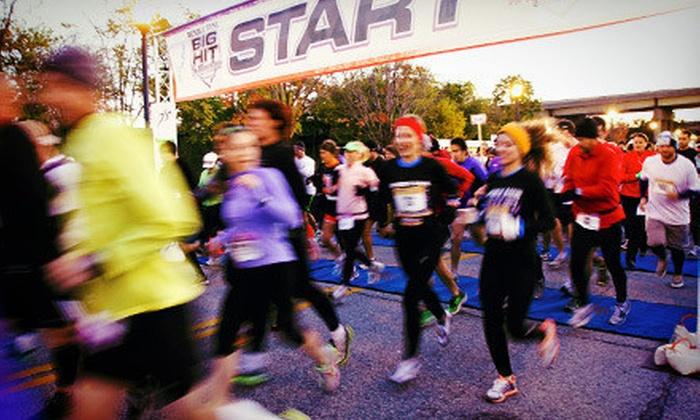 Republic Bank Big Hit Marathon - Central Business District: Republic Bank Big Hit Marathon Quarter- or Half-Marathon Race (Half Off)