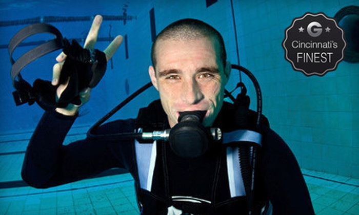 Cincinnati Diving Center - Finneytown: Advanced Open Water, Rescue Diver, or Learn to Scuba Certification Course at Cincinnati Diving Center (Up to 56% Off)