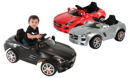Mercedes SLS Kids' Ride-On Car with Remote