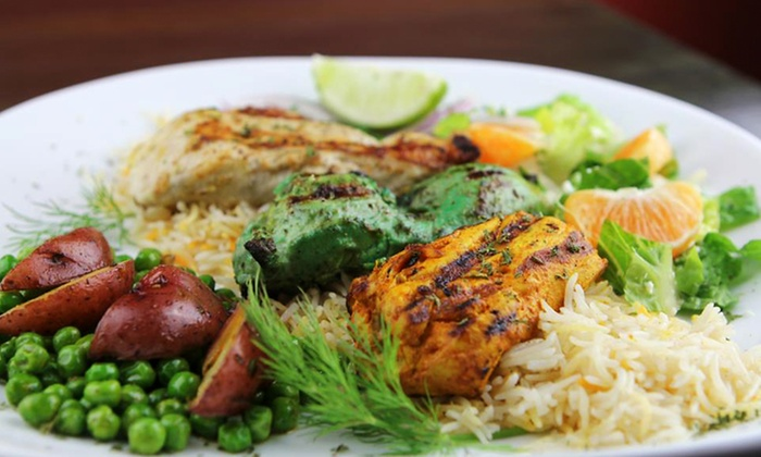 Fresh Kabobs - Fullerton: Indian Cuisine at Fresh Kabobs (40% Off). Two Options Available.