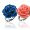 Stainless Steel Flower Rings