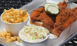 Big Shake's Hot Chicken & Fish West Main: $12 for $20 Worth of Fried Chicken and Fish, Sides, and Desserts at Big Shake's West Main