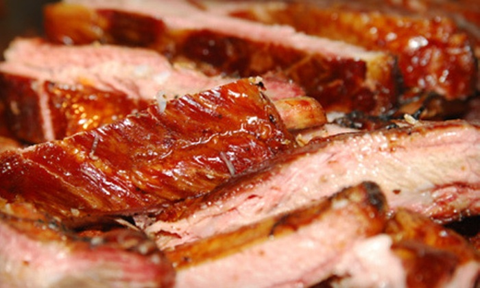 Brothers Barbeque - Los Angeles: Carry-Out Barbecue Cuisine from Brothers Barbeque (Half Off). Two Options Available.