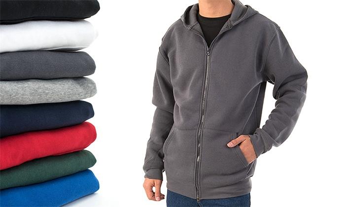 סיגל בגדי עבודה ופרסום - Merchandising (IL): זוג קפוצ'ונים אופנתיים לגבר עם כובע במגוון צבעים ומידות
