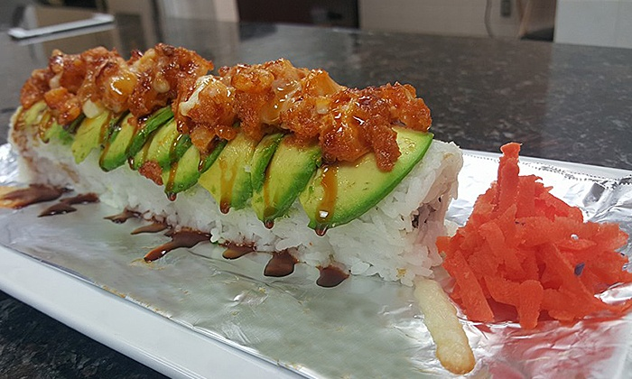 Mariscos El Sushi - McLane: Mexican-Style Sushi at Mariscos El Sushi (40% Off). Two Options Available.