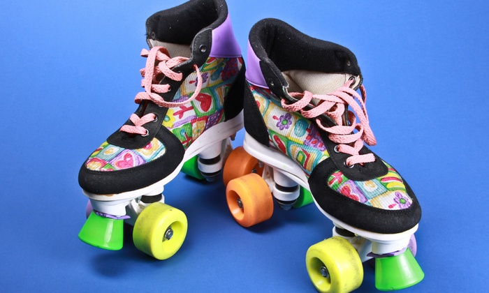 Rollerama - Brighton: Skating Package with Pizza and Glow Item for Two or Four at Rollerama (Up to 51% Off)
