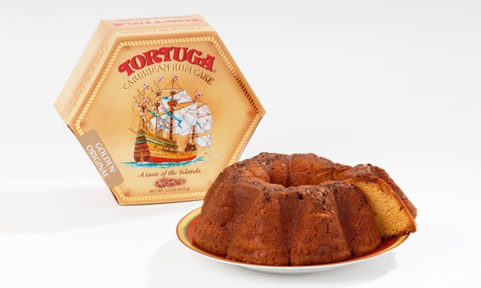 Tortuga Caribbean Rum Cake: $26.99 for a Tortuga Caribbean Rum Cake in Golden Original ($32.95 List Price). Free Shipping.