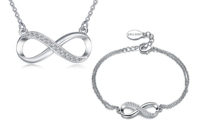 bracelet swarovski femme infini