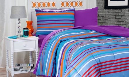 Dorm Room Bundles with Reversible Bedding (22 or 25 Pieces)