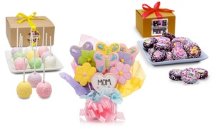 Mother's Day Cake Pops, Cookie Bouquet, or Oreo Gift Box