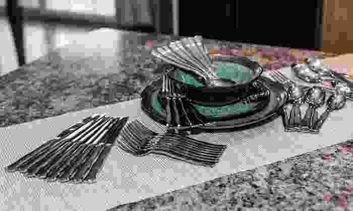 Cuisinart 45-Piece Flatware Sets: Cuisinart 45-Piece Flatware Sets. Multiple Designs Available. Free Returns.