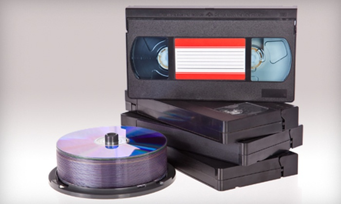 AMR Productions - Novato: $40 for $100 Worth of Video Transfer Services at AMR Productions in Novato