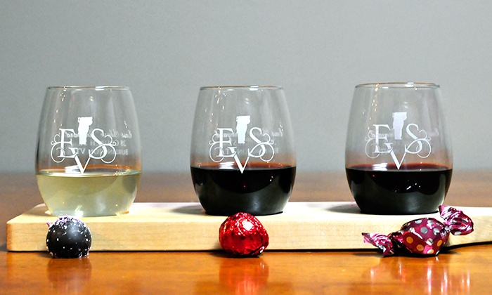 East Shore Vineyard - Church Street Marketplace: Wine Tasting for Two plus a Glass of Wine Each at East Shore Vineyard (Up to 46% Off). Two Options Available.