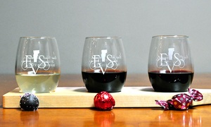 East Shore Vineyard: Wine Tasting for Two plus a Glass of Wine Each at East Shore Vineyard (Up to 46% Off). Two Options Available.