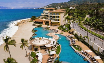 groupon daily deal - ✈ All-Inclusive Garza Blanca Stay with Airfare. IncludesTaxes andFees. Price per Person Based on Double Occupancy.