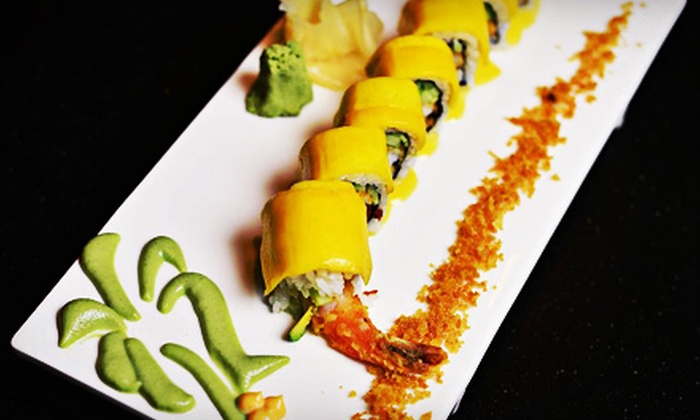Hooked Seafood & Sushi - Sterling: Four-Course Dinner for Two on Sunday–Thursday or Friday–Saturday at Hooked Seafood & Sushi (Up to Half Off)