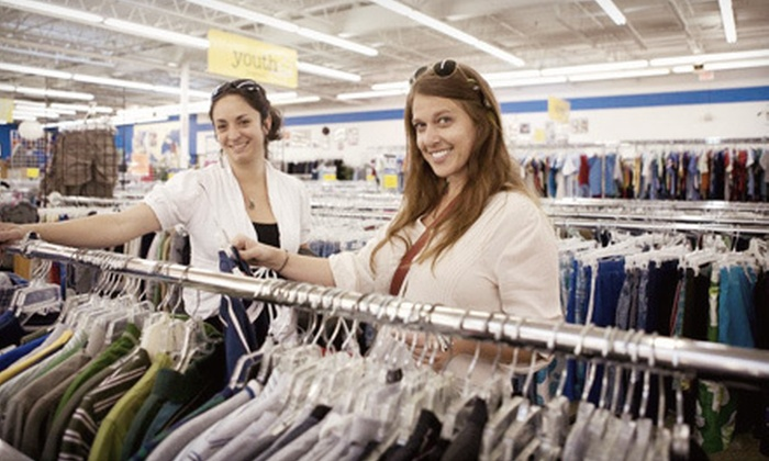 ThriftSmart - Nashville: Gently Used Apparel and Accessories at ThriftSmart (Half Off). Two Options Available.