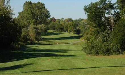 $38 for One Round of Golf for Two with Cart Rental at Hilltop Golf Course ($76 Value)