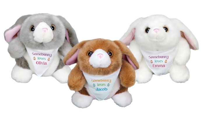 Personalized Stuffed Easter Bunny From 800bear Com Groupon