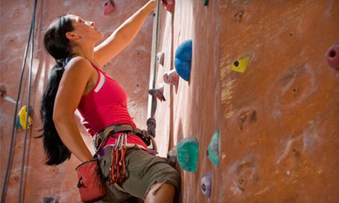 New Jersey Rock Gym - New Jersey Rock Gym: Belay-Certification Course Package or Private Climbing Lesson for Up to Four at New Jersey Rock Gym (Up to 55% Off)