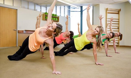 Five Fitness Classes or One Month of Unlimited Classes at The Dailey Method (Up to 78% Off)
