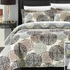 2- or 3-Piece Kimberly Reversible Ornamental Printed Quilt Set
