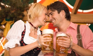 American German Club: Oktoberfest for Two or Four with Beer from American German Club (50% Off). Three Options Available.