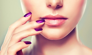 V Fashion Nails Spa: CC$40 for Bio-Gel Manicure with Extension or Design from V Fashion Nails Spa (CC$75 Value)