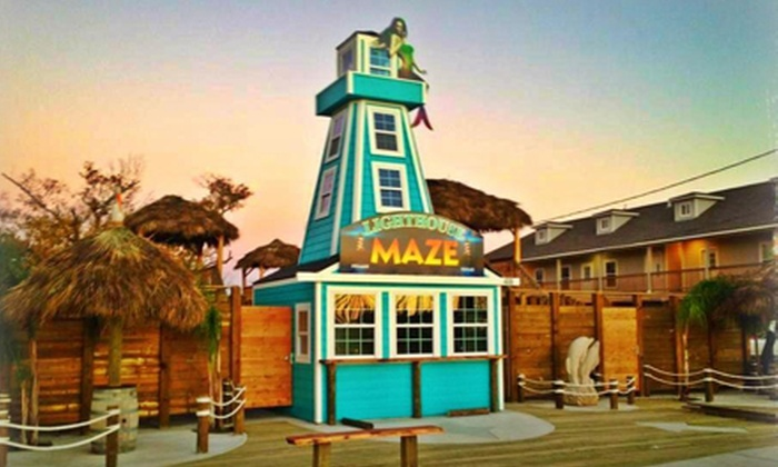 The Kemah Lighthouse Maze - Kemah: Maze Challenge for 2, 4, 6, or 10 at The Kemah Lighthouse Maze (Up to Half Off)