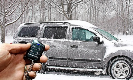$195 for Remote Car Starter with Keyless-Entry System and Interface-Module at The Stereo Shop ($449.99 Value)