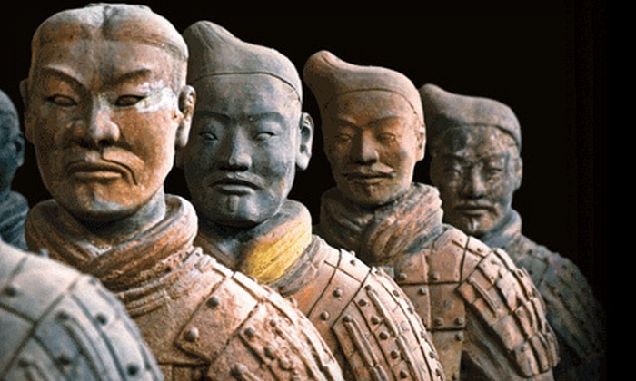 """""""Terracotta Warriors: Defenders of China's First Emperor"""" Exhibit - Theater District - Times Square: """"Terracotta Warriors: Defenders of China's First Emperor"""" Exhibit for Kid or Adult at Discovery Times Square (Half Off)"""