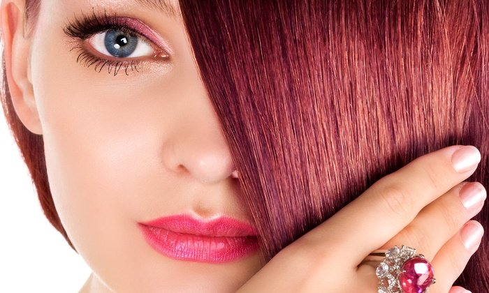 Chop Shop Salon - Chop Shop Salon: One or Two Colored Hair Extensions or 15 Pieces of Hair Tinsel at Chop Shop Salon (Up to 56% Off)