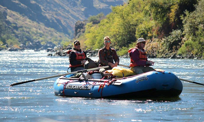 America's Rafting Company - New Meadows: Whitewater-Rafting Day Trip on the Salmon River for Two, Four, or Six from America's Rafting Company (50% Off)